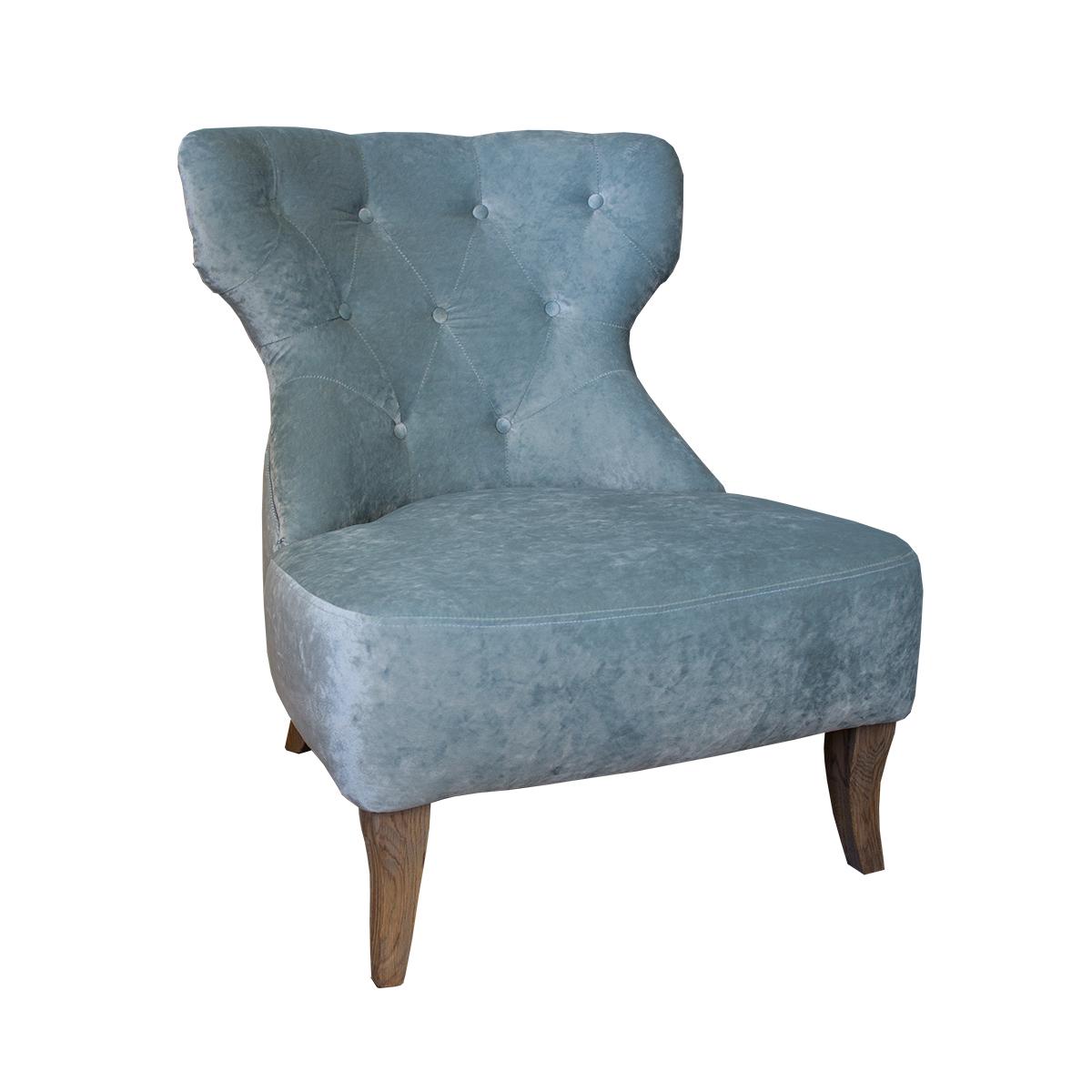 sessel mons mit einer vornehmen knopfheftung im r cken. Black Bedroom Furniture Sets. Home Design Ideas