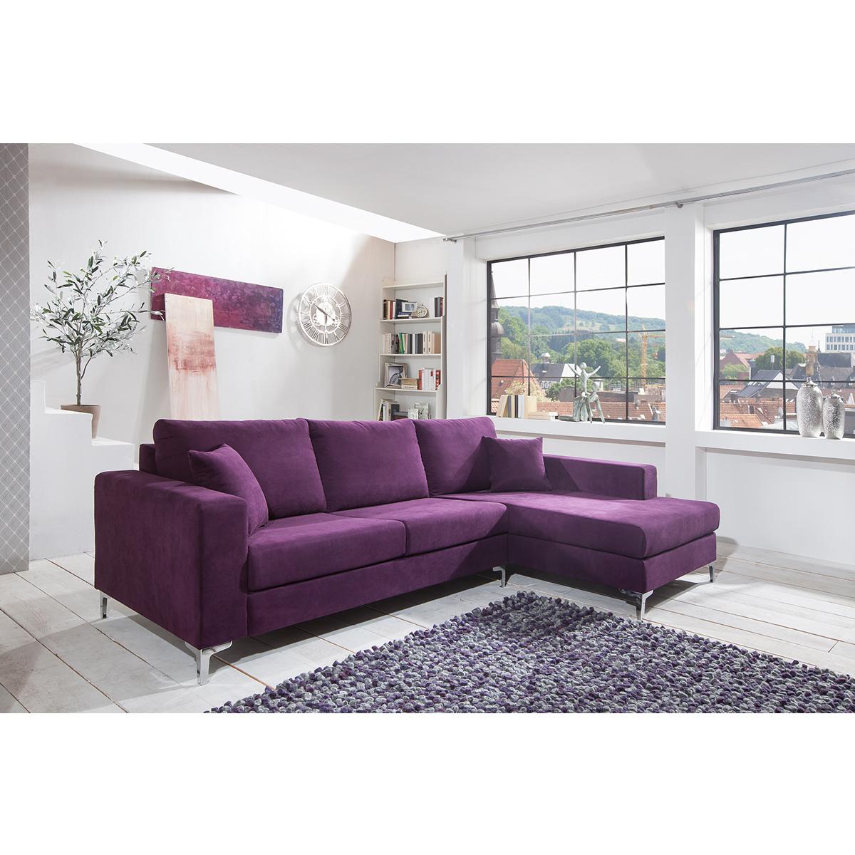 lille polsterecke mit ottomane moebel trend 24. Black Bedroom Furniture Sets. Home Design Ideas