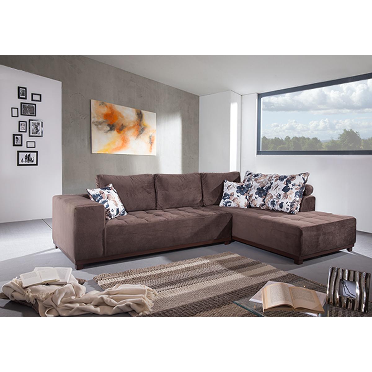 marseille eckgarnitur mit attraktiver steppung moebel. Black Bedroom Furniture Sets. Home Design Ideas