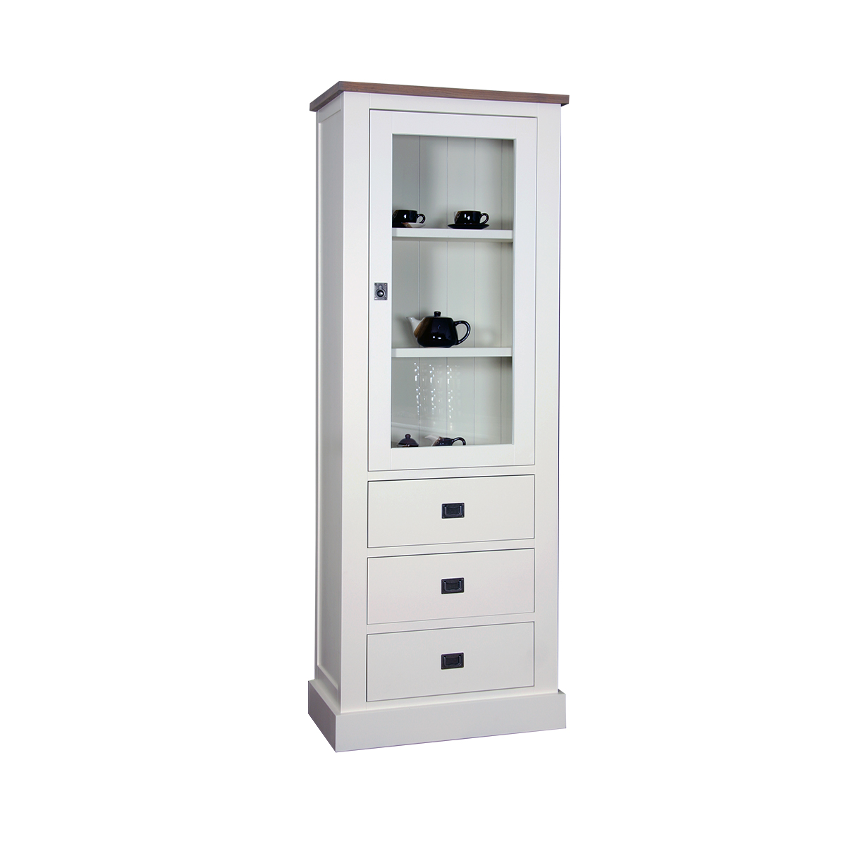 skandinavische vitrine oslo bei moebel trend 24 online kaufen moebel trend 24. Black Bedroom Furniture Sets. Home Design Ideas