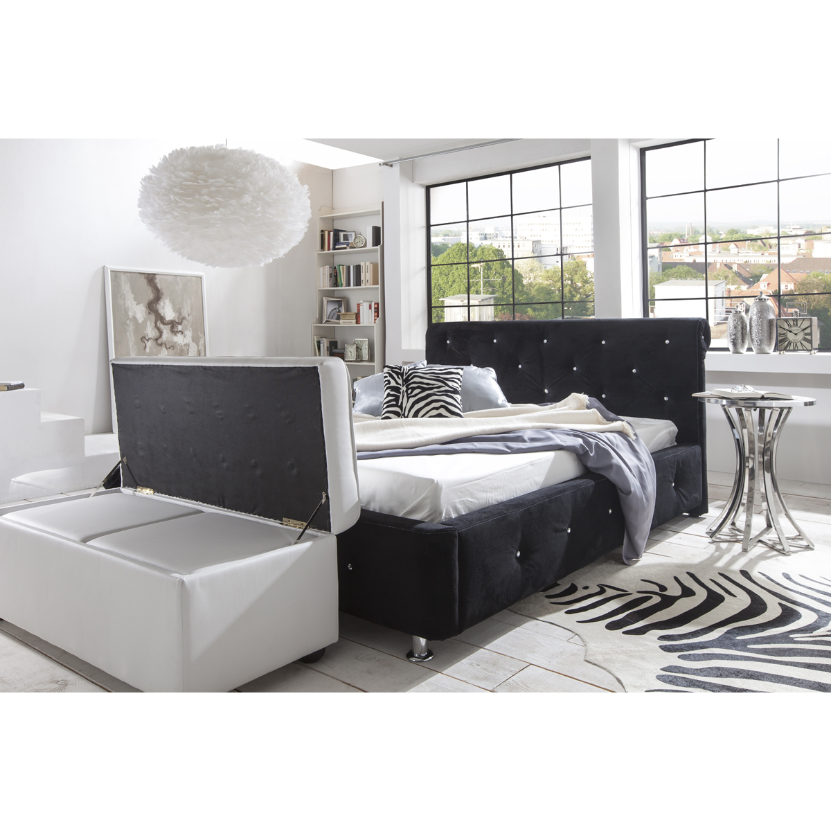 als sitztruhe oder ankleidebank ist der billy eine tolle erg nzung zu den betten von moebel. Black Bedroom Furniture Sets. Home Design Ideas