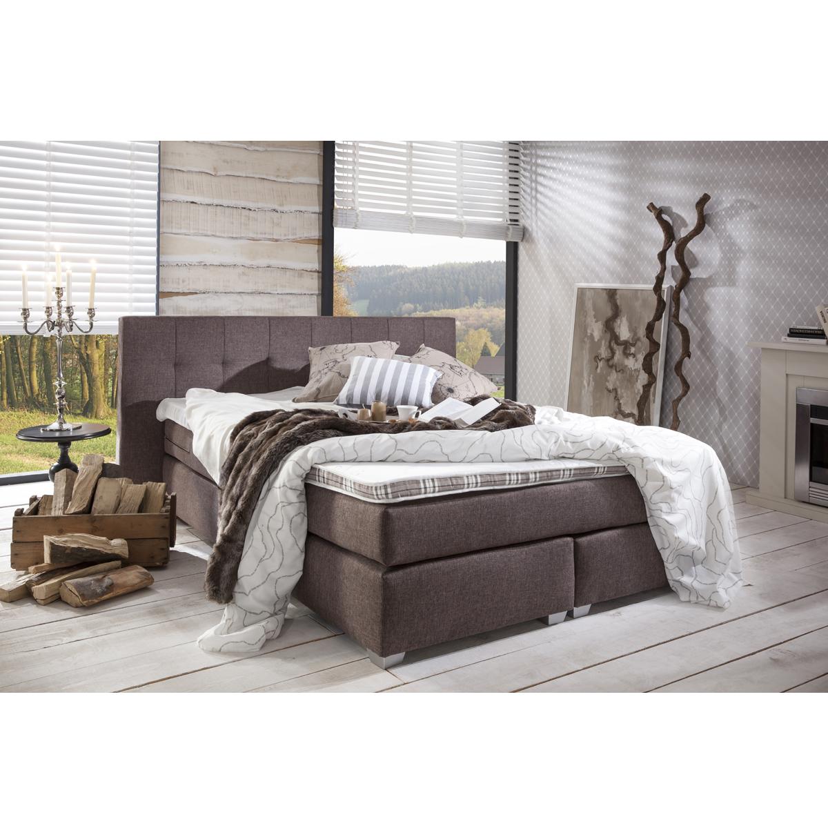 boxspringbett deluxe bei moebel trend 24 g nstig online kaufen moebel trend 24. Black Bedroom Furniture Sets. Home Design Ideas