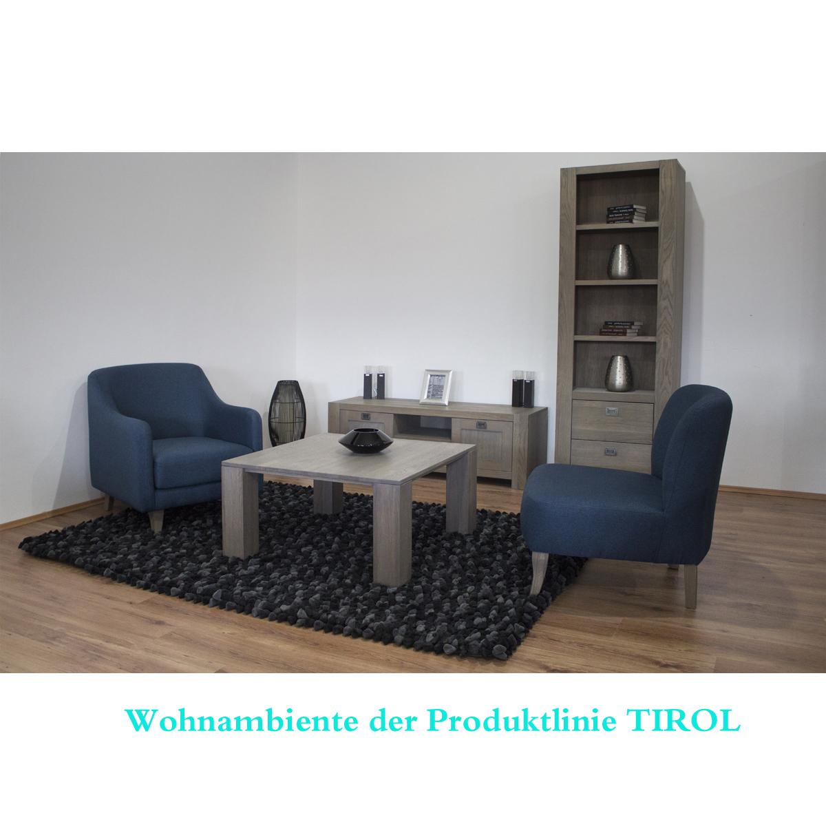 kurze tv kommode tirol aus eiche moebel trend 24. Black Bedroom Furniture Sets. Home Design Ideas